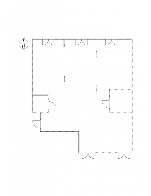 Круглая комната внутри-3