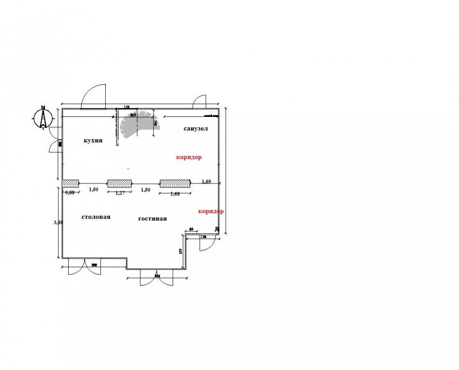 Нужен толковый совет по планировке 1 этажа