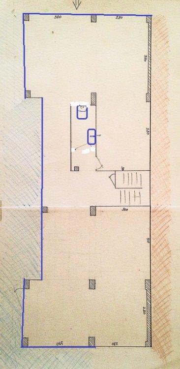 Планировка первого этажа частного дома