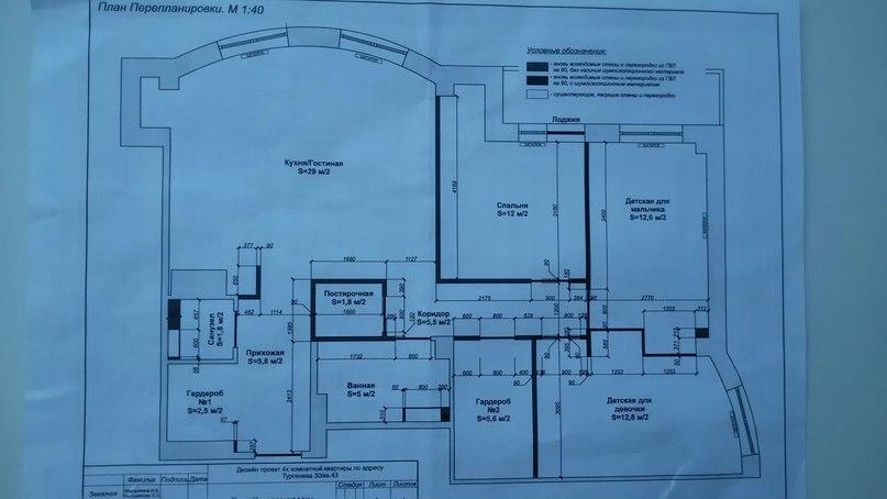 Свободная планировка 4-комн 97 кв.м.