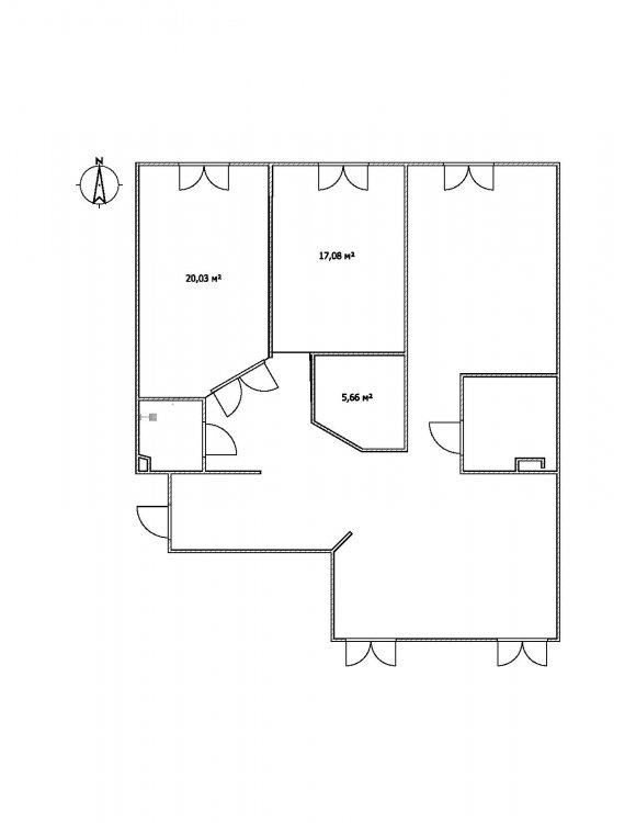 Круглая комната внутри-4