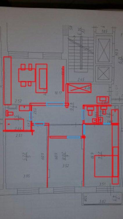 Круглая комната внутри-2