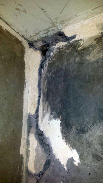 Трещины в панельном доме