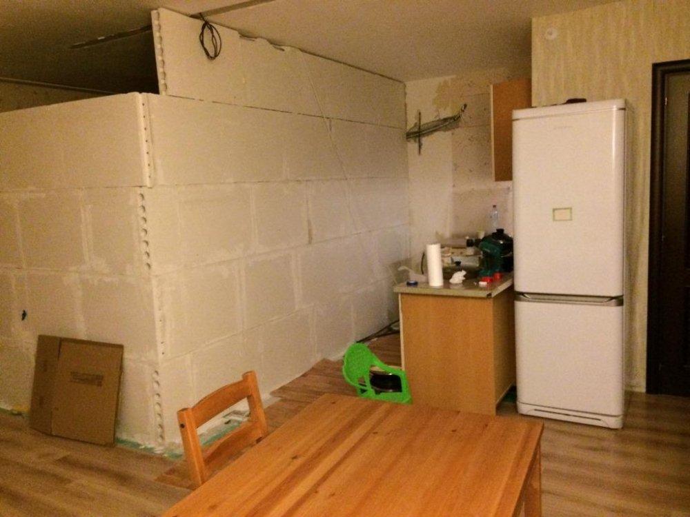 Кухня шириной 1,5 метра. Как обыграть угол?-2