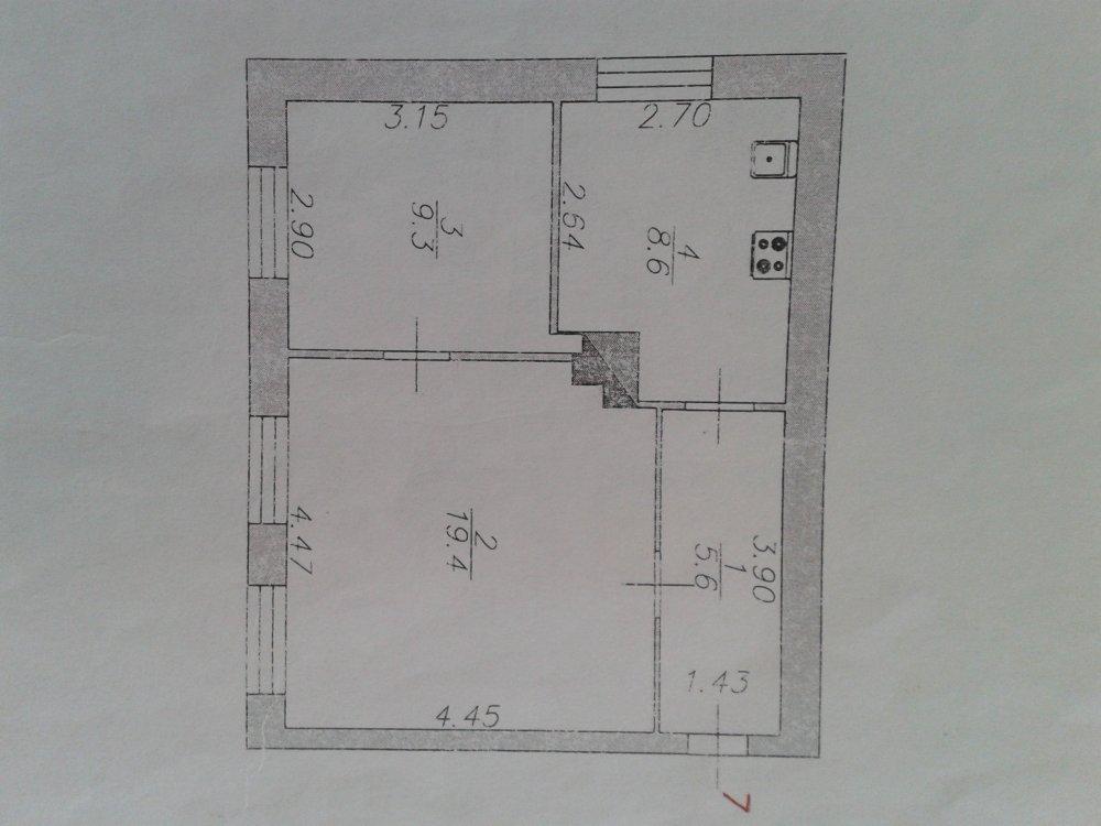Спальня с гардеробной, возможно из Икеи