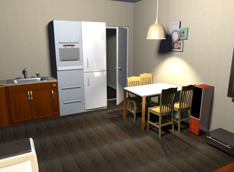 Помощь в планировке кухни-гостиной 5х4 (20 кв. м)-5