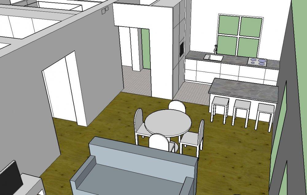 Покупка дома на стадии коробки - как расставить стены и мебель?-4
