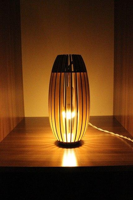 Светильник из фанерки / параметрика