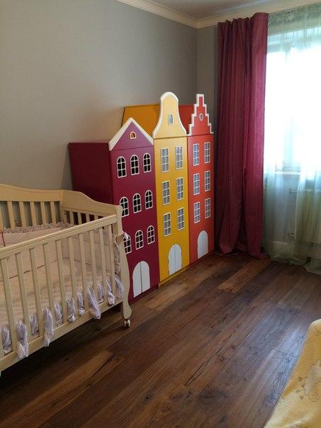 Голландские шкафы-домики в детскую.-12