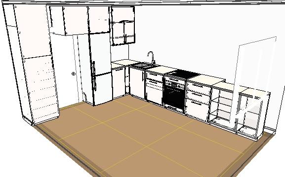 Функциональная кухня-гостиная