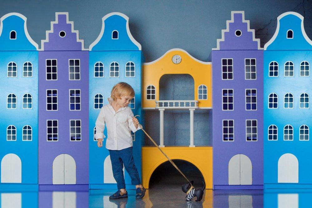 Голландские шкафы-домики в детскую.