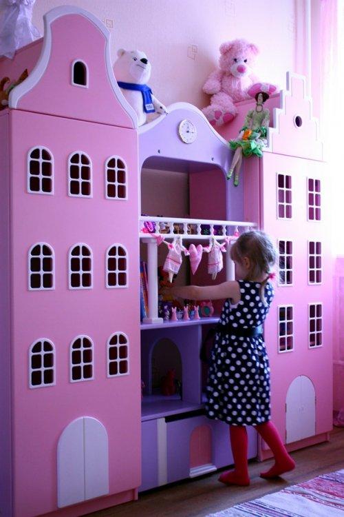 Голландские шкафы-домики в детскую.-2