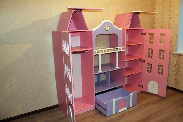 Голландские шкафы-домики в детскую.-8