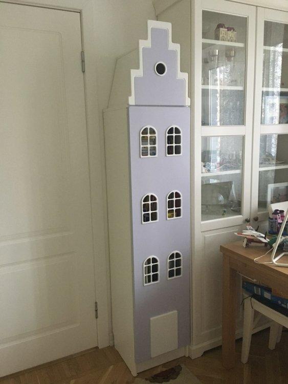 Голландские шкафы-домики в детскую.-11