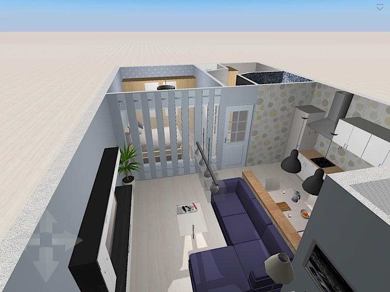 Спальня без окна (вариант второго света)