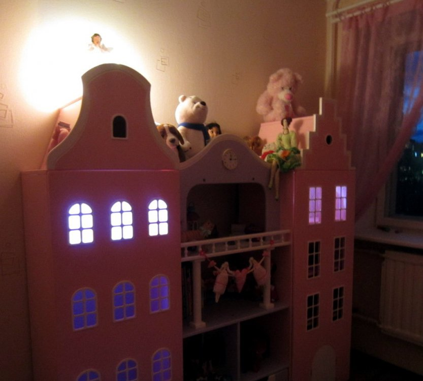 Голландские шкафы-домики в детскую.-7