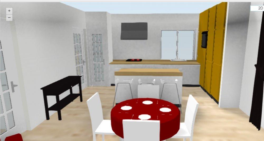 Завтра строить - плана нет! Никак не вырисовывается кухня-гостиная в американском стиле-3