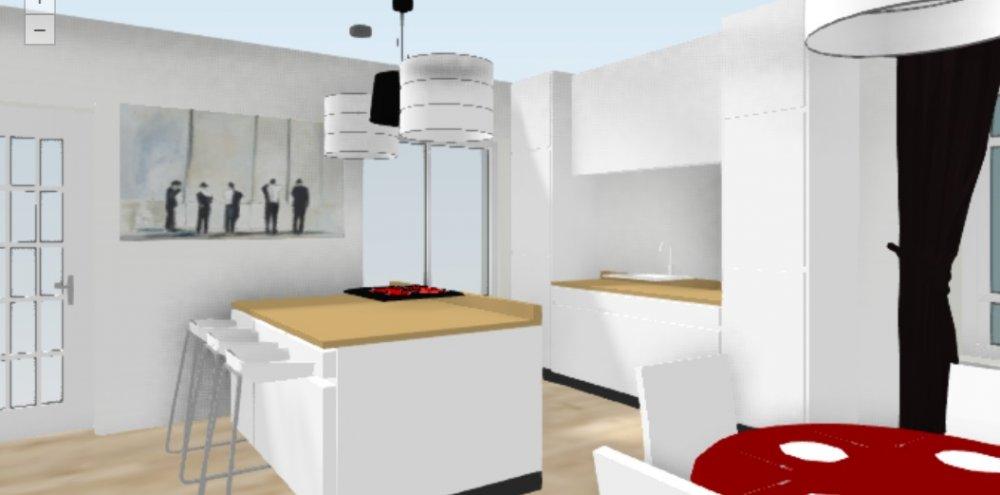Завтра строить - плана нет! Никак не вырисовывается кухня-гостиная в американском стиле-2