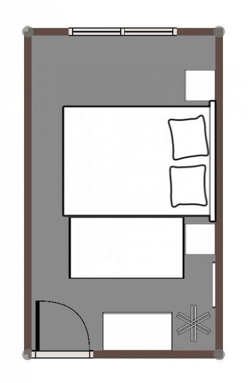 Косметический частичный ремонт маленькой спальни - нужны советы!)-9