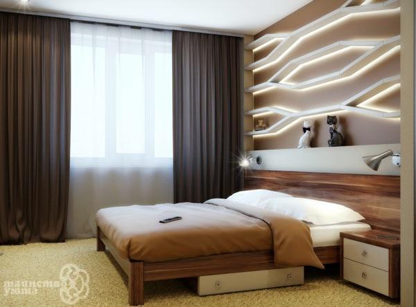 Косметический частичный ремонт маленькой спальни - нужны советы!)-2