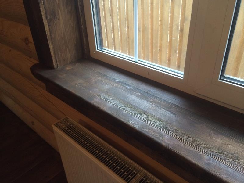 откосы на окна в деревянном доме фото ему