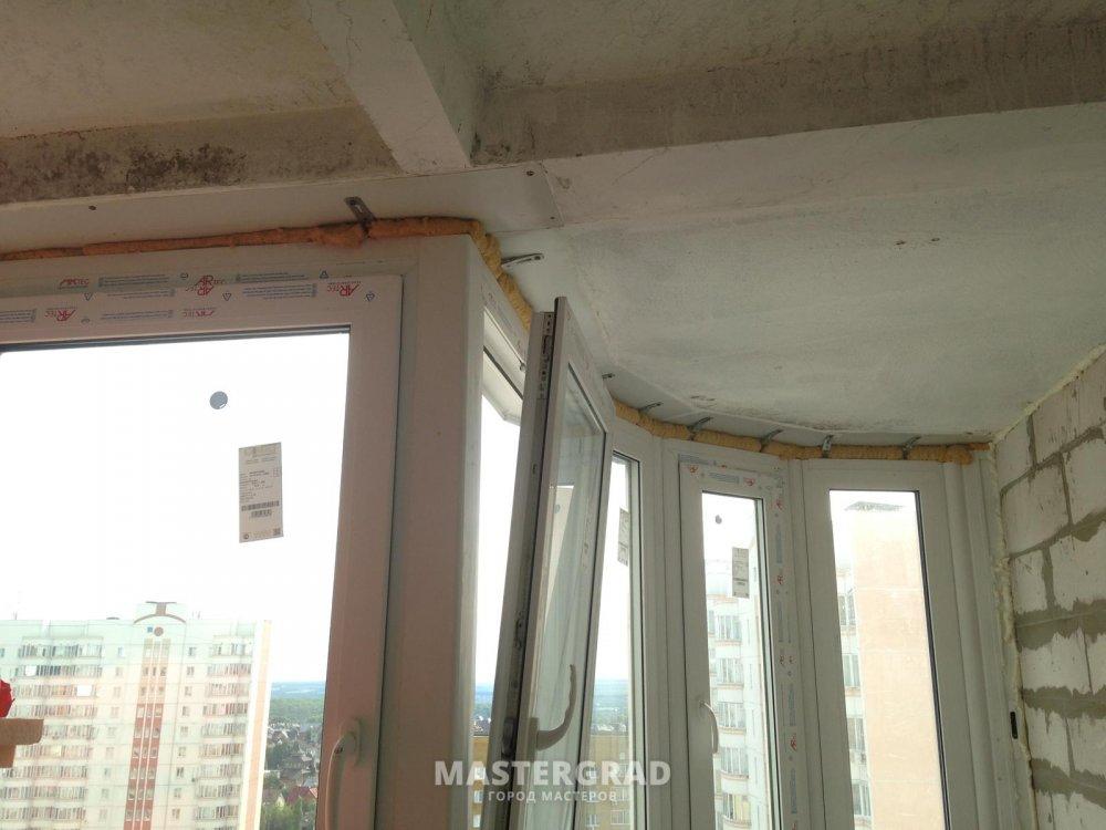 Проблема утепления лоджии пеноплексом неровный потолок