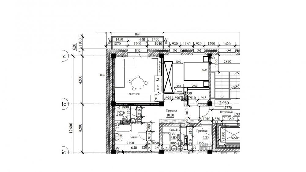 Помогите спланировать кухню-гостиную-5