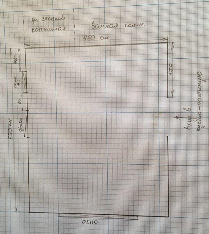 Планировка кухни - гостиной в доме, помогите!!!