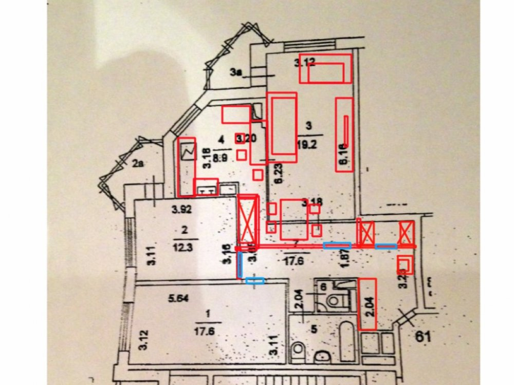 перепланировка 3шки в не типовом доме-2