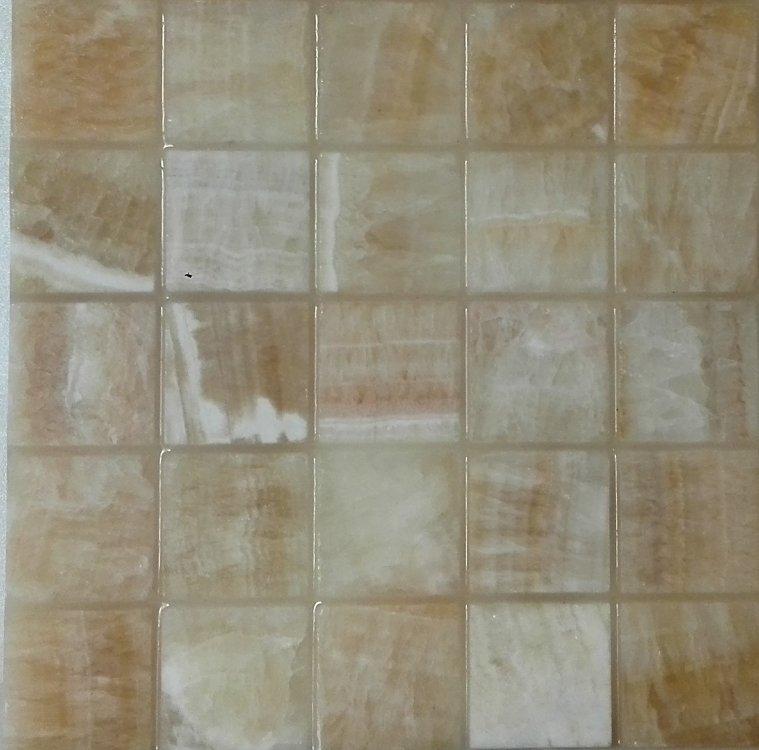 Светодиодная плитка для фартуков из стекла и камня.