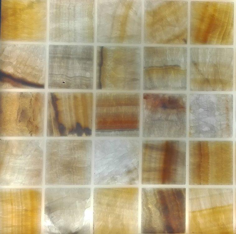 Светодиодная плитка для фартуков из стекла и камня.-2