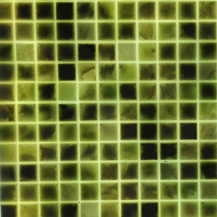 Светодиодная плитка для фартуков из стекла и камня.-8