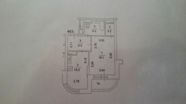 Растановка мебели в однушке-4