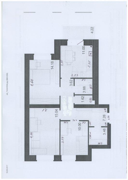 Идеальная планировка для семьи с двумя детьми (13 и 4 года)