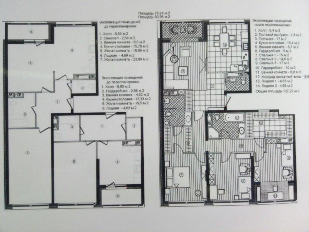 Обьединение 2-х квартир в новостройке, присоединение лоджий и перепланировка. С чего начать?