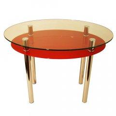 Стол обеденный из стекла