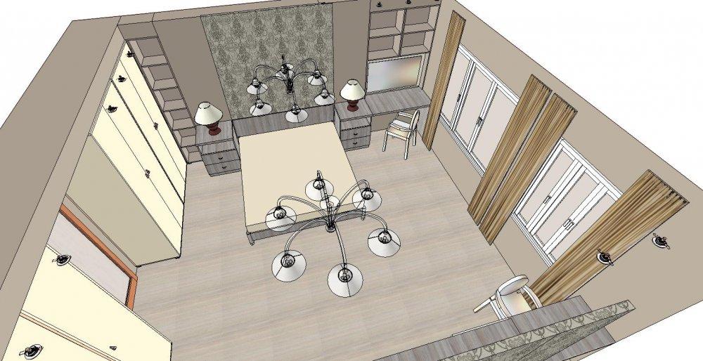 Нужна скорая помощь по дизайну спальни-2