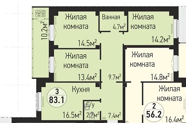 Помогите выбрать планировку-2