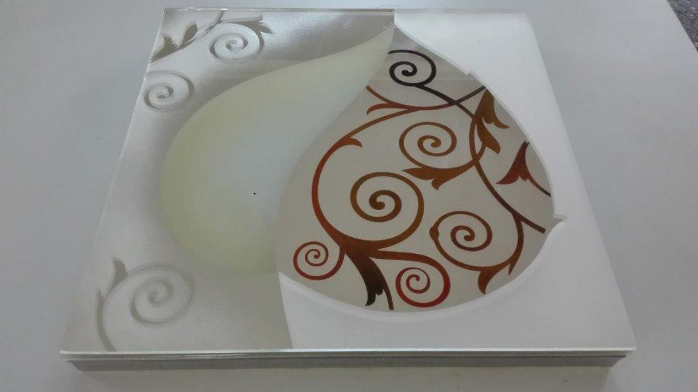 Светодиодная плитка для фартуков из стекла и камня.-5