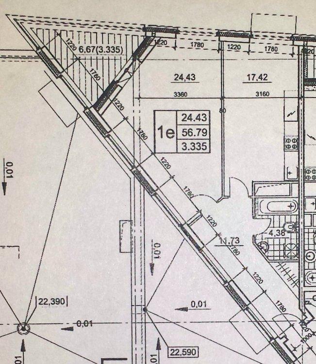 Помогите спланировать квартиру сложной формы