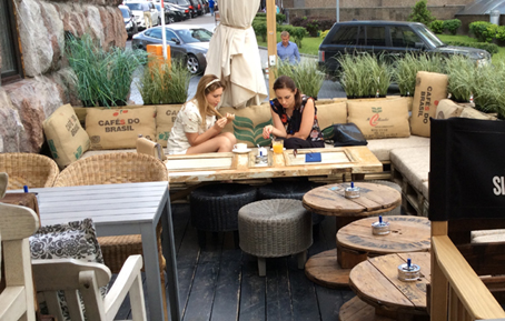 Стол для сада, кафе, дома-7