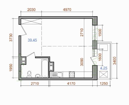Помогите определиться с 40 кв.м.