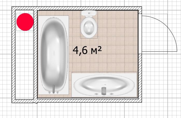 Нужны советы бывалых - расстановка в ванной-3