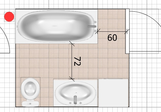 Нужны советы бывалых - расстановка в ванной