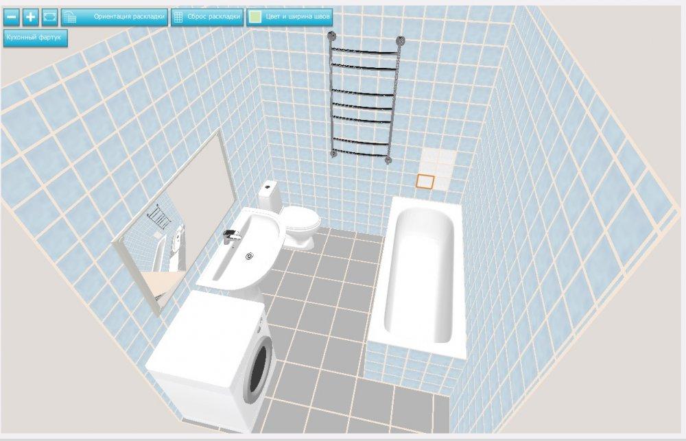 Нужны советы бывалых - расстановка в ванной-2