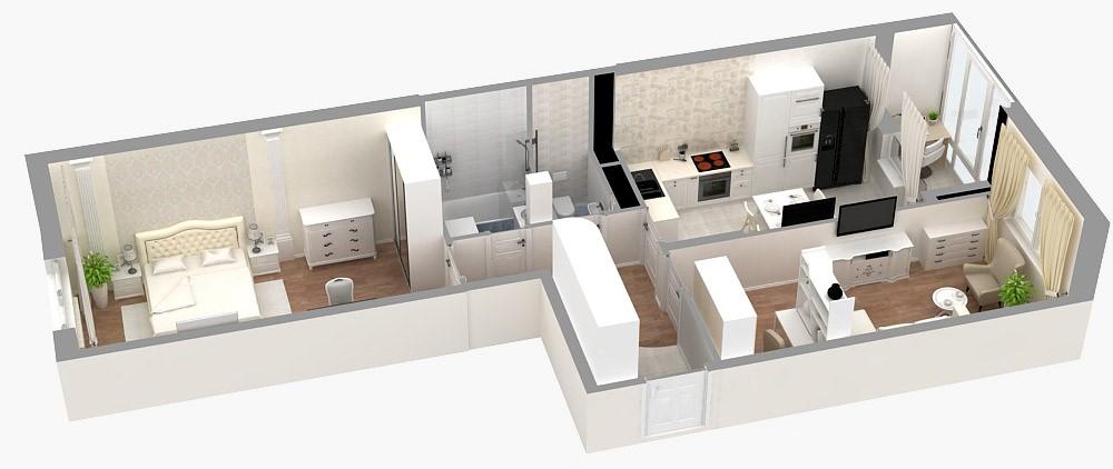 Нужны идеи дизайна спальни по готовому проекту