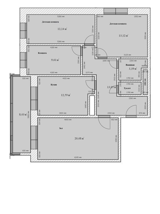 2 Вариант1 4 комнаты 2d.jpg