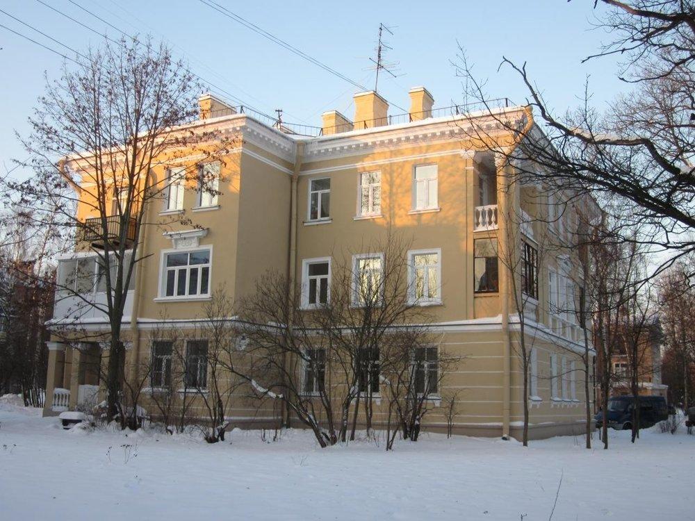 Балкон в СФ