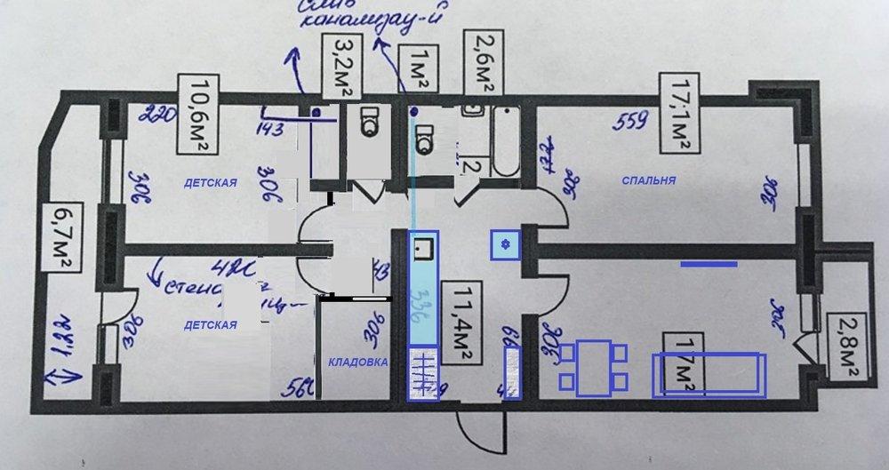 3-ка в панельном доме-2