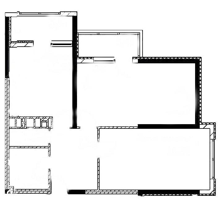 Перепланировка двушки 62 кв.м. Что интересного, можно придумать с этой квартирой?
